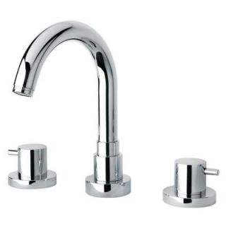 La Toscana Elba Lever 2 Handle Free Standing Roman Tub Faucet in Polished Chrome 78CR102EX