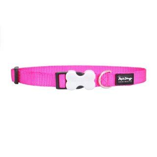 Red Dingo Hot Pink Large Dog Collar  Pet Collars