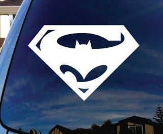 "Super Batman Car Window Vinyl Decal Sticker 7"" Wide"