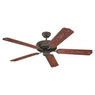 Sea Gull Lighting Panorama 52 in. Outdoor Roman Bronze Ceiling Fan 15046 191