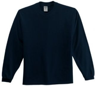 Jerzees 363L 5.6 oz. Cotton Long Sleeve T Shirt Clothing