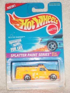 Hot Wheels Splatter Paint Series #1/4 Col#408