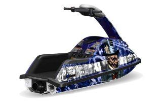 AMR Racing Yamaha Superjet Jet Ski Graphic Wrap Kit (round nose)   Madhatter Automotive
