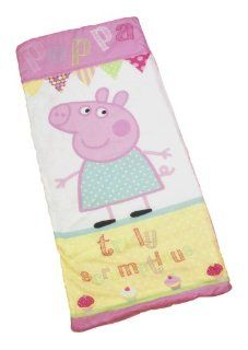 Peppa Pig 'Cupcake' School Sleeping Bag   Bed In A Bag