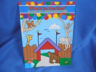 Do A Dot Art Zoo Animals Activity Book Toys & Games