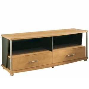 South Shore Furniture City Life Honeydew and Charcoal TV Stand 4257662