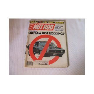 Hot Rod Magazine October 1984 Can They Outlaw Hot Rodding? Hot Rod Magazine Books