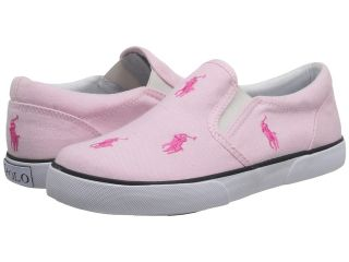 Polo Ralph Lauren Kids Bal Harbour Repeat Girls Shoes (Pink)
