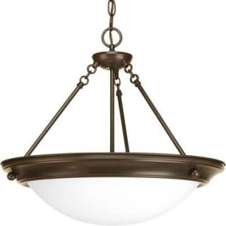 Progress Lighting Eclipse Collection 3 Light Antique Bronze Foyer Pendant P3486 20