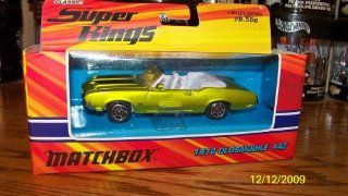 Matchbox Super Kings Classic 1970 Oldsmobile 442 Convertible Green K 204 Toys & Games