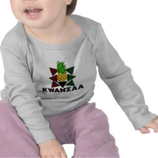Kwanzaa Pineapple   First Fruit T Shirts