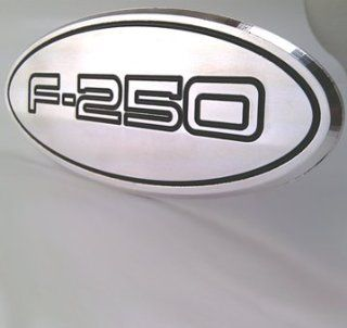 Trailer Hitch Cover Tow Plug Ford F 250 Custom CNC Machined Aluminum 6061 Made in the USA