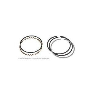 "TISCO   NO PRS449. PISTON RING SET, 4.02"" BORE. 1 @ 1/8"" KEYSTONE, 1 @ 3/32"""