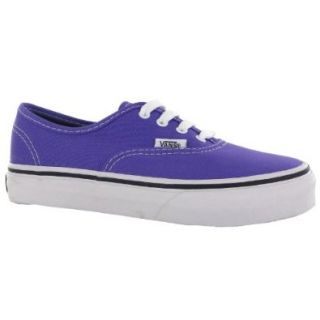 Vans Authentic Purple Kids Trainers Shoes
