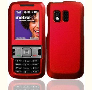 Red Hard Case Cover for Samsung Messager R450 R451C R451 C Cell Phones & Accessories