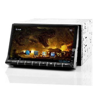 Dozen Mobile 2 DIN Android Car DVD Player  7 Inch Screen, GPS, WiFi, Analog TV Cell Phones & Accessories