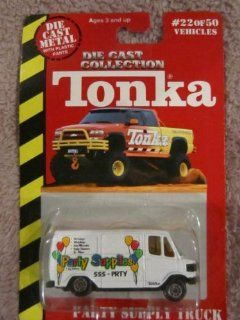 1999 Tonka # 22 Party Supply Truck Toys & Games