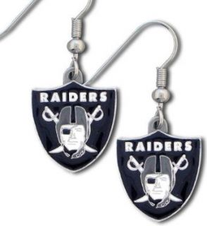 Officially Licensed Oakland Raiders Earrings Clothing