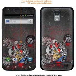 Protective Decal Skin Sticker for Samsung Galaxy S II Skyrocket (AT&T Model) case cover Skyrocket 448 Cell Phones & Accessories