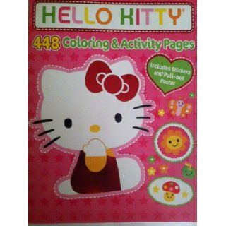 Hello Kitty 448 Coloring & Activity Pages Sanrio 9781614055204 Books