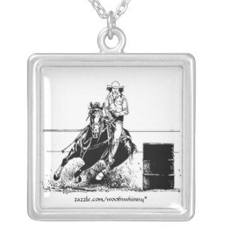 Barrel Racing Horse Custom Jewelry
