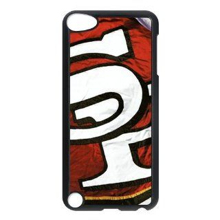 WY Supplier Official NFL San Francisco 49ers Team logo Hard Ipod touch 5th phone 3D Case WY Supplier 148238 Cell Phones & Accessories