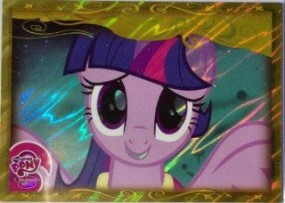 "2013   MY LITTLE PONY ""FRIENDSHIP IS MAGIC"" (SERIES 2)   TWILIGHT SPARKLE   GOLD FOIL CARD #G4 Toys & Games"