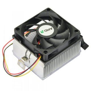 EarlyBirdSavings CPU Cooler DC Fan Heatsink Cooling for Computer 3p Pin For AMD Socket A/462/370 Computers & Accessories