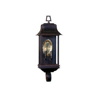 Hanover Lantern B8502GRAAC2 Salem Large 2 Light Outdoor Wall Light in Granite with Clear Acrylic glass   Cast Aluminum   Wall Porch Lights