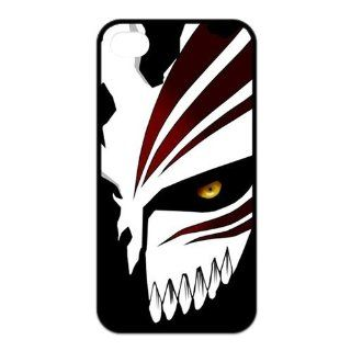 First Design Popular Anime Hollow Mask Ichigo Bleach Unique Best Durable RUBBER Silicone Iphone 4 4s Case Cell Phones & Accessories