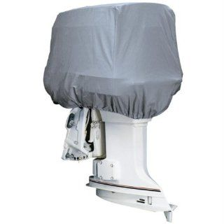Attwood Road Ready Heavy Duty Canvas Cover for Outboard Motor Hoods  Boat Covers  Sports & Outdoors