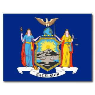 New York State Flag Post Cards