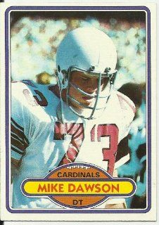 1980 Topps Mike Dawson (St. Louis Cardinals) Football Trading Card #487