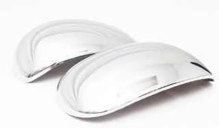 509 Ford Expedition 1997   2002 / F 150 1997   2003 / Lincoln Navigator 1997   2002 (without Signal Lights) ABS Chrome Mirror Insert Accent Cover Automotive