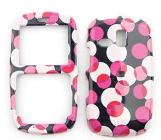 For Samsung Freeform / Link R350 / R351 / R355 Pink Polka Dots Case Accessories Cell Phones & Accessories
