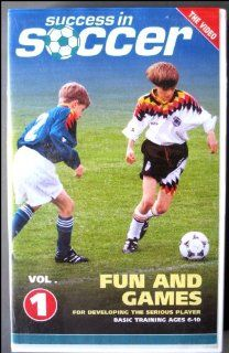 Success in Soccer Fun & Games Vol. 1 ages 6 10 Videoteach Movies & TV