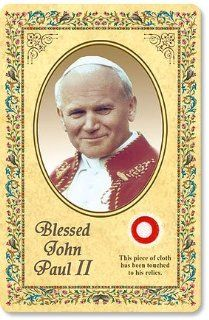 Blessed Pope John Paul II Relic Card