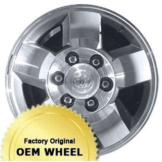 TOYOTA 4 RUNNER,FJ CRUISER 16X7 5 SPOKE Factory Oem Wheel Rim  MACHINED FACE GREY   Remanufactured Automotive