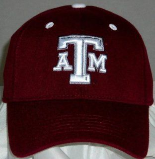 Texas A&M Aggies Wool Team Color One Fit Hat  Sports Fan Baseball Caps  Sports & Outdoors