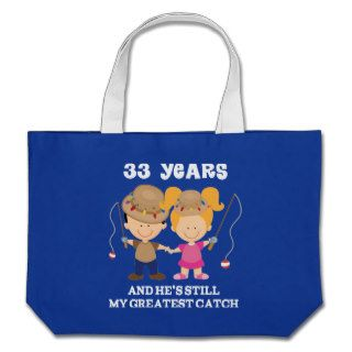 33rd Wedding Anniversary Funny Gift For Her Canvas Bag
