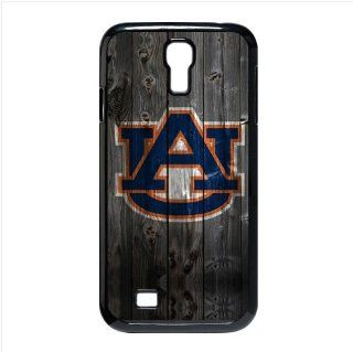 Awesome Wood Look NCAA Auburn Tigers Team Logo Personalized Design Samsung Galaxy S4 I9500 Cover Case Cell Phones & Accessories