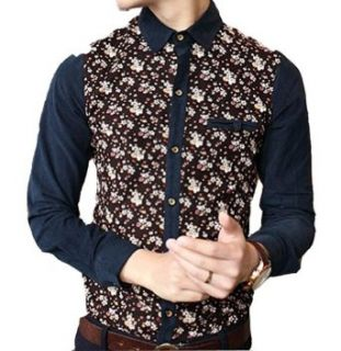 Fashion Personality All match Take Men's Long Sleeve Shirt at  Men�s Clothing store