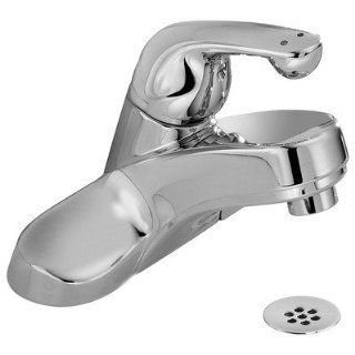 Delta 523 HDF Commercial Single Handle Centerset Bathroom Faucet   Metal Grid Strainer   Touch On Bathroom Sink Faucets