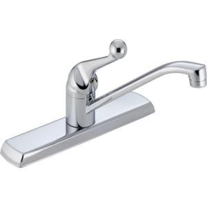 Delta Classic SIngle Handle Kitchen Faucet in Chrome 120LF