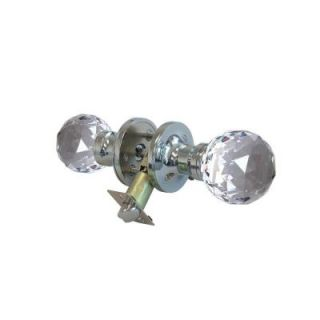 Krystal Touch of NY Epoch Crystal Chrome Privacy Door Knob with LED Mixing Lighting Touch Activated DL3615CPRI