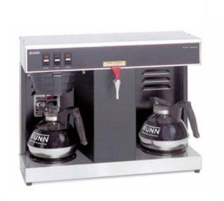 Bunn O Matic VLPF Black Low Profile Automatic Coffee Brewer, 17.4 x 23.5 x 13.1 inch    1 each. Serveware Kitchen & Dining