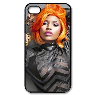 Custom Nicki Minaj Cover Case for iPhone 4 4S PP 1044 Cell Phones & Accessories