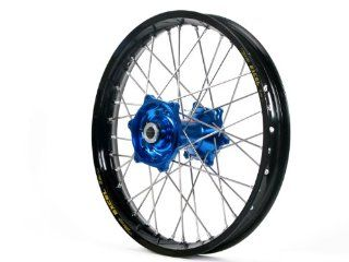 "Dubya Talon Blue Hub with Excel Takasago Black Rim Painted Finish Rear Wheel (1.85x16"") Automotive"