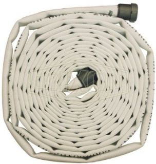 "Dixon Valve A525 50RAF Polyester 500# Single Jacket Fire Hose with Aluminum Rocker Lug, NST Male x NST Female, 225 psi Pressure, 50' Length, 2 1/2"" Hose ID Air Tool Hoses"