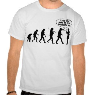 Evolution Of Men & Women Pepper Spray T shirt